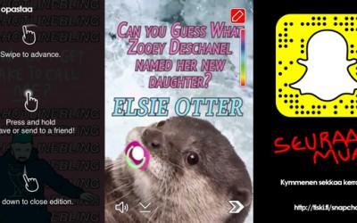 päivitetty: Snapchat ja jakamaton huomio (pikaopas aloittajalle)