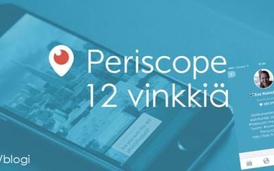 12 vinkkiä: näin saat Periscope-lähetyksiisi enemmän katsojia