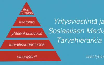 millä pyramidin askelmalla sinun yrityksesi tai organisaatiosi on?