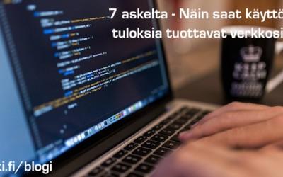 7 vinkkiä ja 3 varoitusta verkkosivujen tilaajalle