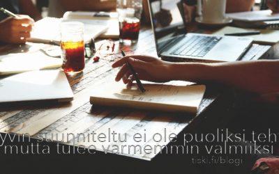 prosessikuvaukset pienissä yrityksissä