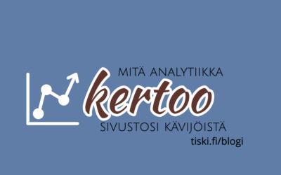 Google Analytics – luetko näitä neljää perusraporttia?