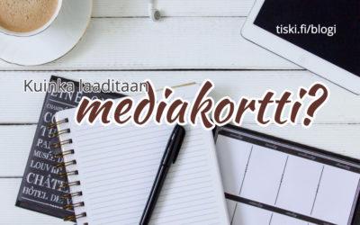 Blogiyhteistyöt – Mediakortti auttaa neuvotteluissa