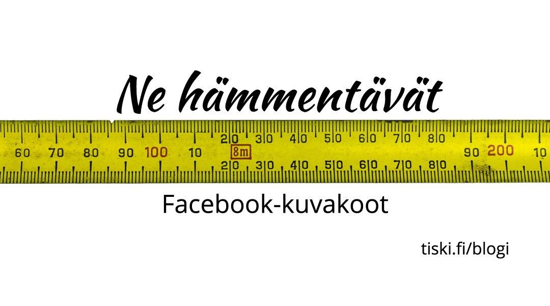 Facebookin kuvakoot [sekä valmiita suunnittelupohjia]